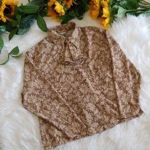 Fashion Fuol Unique Floral Blouse Shirt